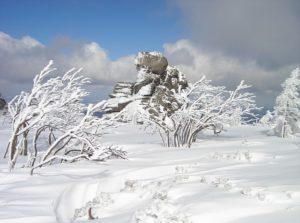zima w karkonoszach