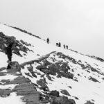 szlak w karkonoszach zimą